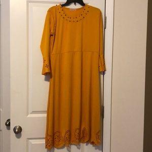 Dresses & Skirts - Mustard Dress